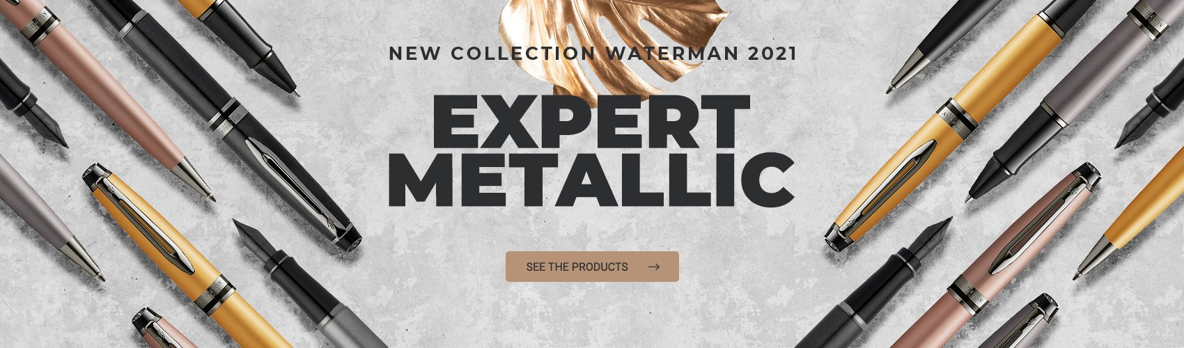 New Waterman Expert Metalic line