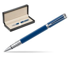 Waterman Perspective Blue Obsession CT Rollerball Pen  in classic box  black