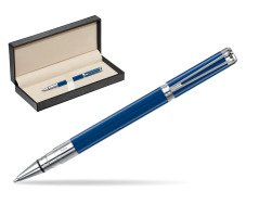 Waterman Perspective Blue Obsession CT Rollerball Pen  in classic box  pure black