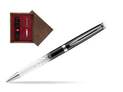 Waterman Hemisphere Ombres & Lumieres CT Ballpoint pen in single wooden box  Wenge Single Maroon