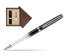 Waterman Hemisphere Ombres & Lumieres CT Ballpoint pen in single wooden box  Wenge Single Ecru