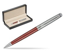 Waterman Hemisphere Privée Rose Cuivré Ballpoint Pen  in classic box  black