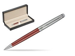Waterman Hemisphere Privée Rose Cuivré Ballpoint Pen  in classic box  pure black