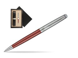 Waterman Hemisphere Privée Rose Cuivré Ballpoint Pen  single wooden box  Wenge Single Ecru