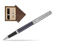 Waterman Hemisphere Privée Saphir Nocturne Rollerball Pen in single wooden box  Wenge Single Ecru