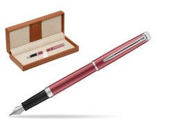 Waterman Hemisphere 2018 Coral Pink CT Fountain Pen  in classic box brown