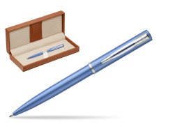 Waterman Allure blue CT Ballpoint Pen   in classic box brown