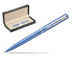 Waterman Allure blue CT Ballpoint Pen   in classic box  black