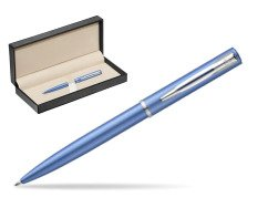 Waterman Allure blue CT Ballpoint Pen   in classic box  pure black