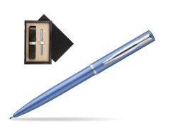 Waterman Allure blue CT Ballpoint Pen   single wooden box  Wenge Single Ecru