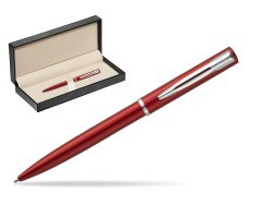 Waterman Allure red CT Ballpoint Pen  in classic box  pure black