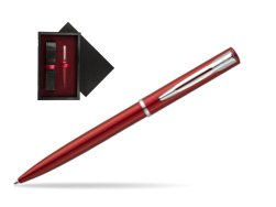 Waterman Allure red CT Ballpoint Pen  single wooden box  Black Single Maroon