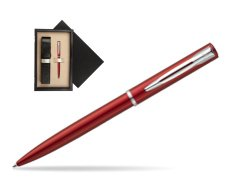 Waterman Allure red CT Ballpoint Pen  single wooden box  Wenge Single Ecru