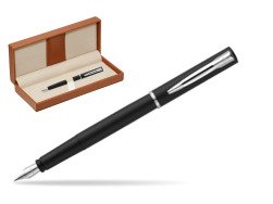 Waterman Allure black mat CT Fountain Pen   in classic box brown