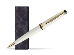 Waterman Ballpoint Pen Expert Ivory GT in cover Glamour Love