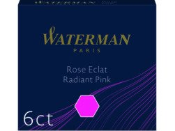 Waterman international ink cartridges 6 pcs. pink