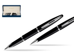 Waterman Carène Black Sea ST Fountain pen + Waterman Carène Black Sea ST Ballpoint Pen