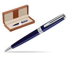 Waterman  Exception Slim Blue CT Ballpoint pen   in classic box brown