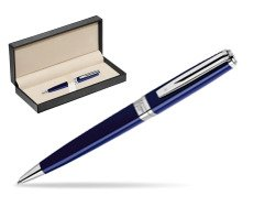 Waterman  Exception Slim Blue CT Ballpoint pen   in classic box  pure black
