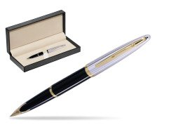 Waterman Carène Deluxe Black GT Fountain pen  in classic box  pure black