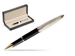 Waterman Carène Deluxe Black GT Rollerball pen  in classic box  black