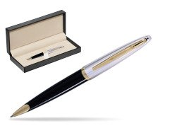 Waterman Carène Deluxe Black GT Ballpoint pen  in classic box  pure black