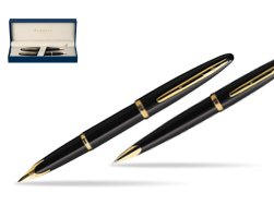 Waterman Carène Black Sea GT Fountain pen + Waterman Carène Black Sea GT Ballpoint Pen