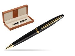 Waterman Carène Black Sea GT Ballpoint pen  in classic box brown