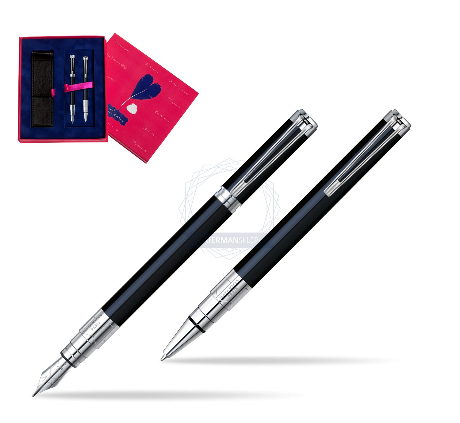 Waterman Perspective Black CT Ball Point Pen