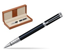 Waterman Perspective Black CT Rollerball pen  in classic box brown