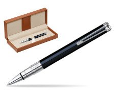 Waterman Perspective Black CT Ballpoint pen  in classic box brown