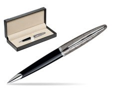 Waterman Carène Contemporary Black and Gunmetal Ballpoint pen ST  in classic box  black