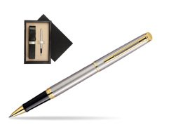 Waterman Hémisphère Stainless Steel GT Rollerball pen  single wooden box  Wenge Single Ecru