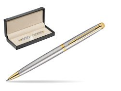 Waterman Hémisphère Stainless Steel GT Ballpoint pen  in classic box  black