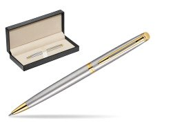 Waterman Hémisphère Stainless Steel GT Ballpoint pen  in classic box  pure black