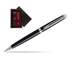 Waterman Hémisphère Black CT Mechanical pencil   single wooden box  Black Single Maroon