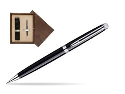 Waterman Hémisphère Black CT Mechanical pencil  in single wooden box  Wenge Single Ecru