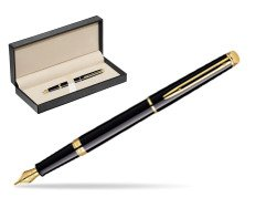 Waterman Hémisphère Black GT Fountain pen  in classic box  pure black