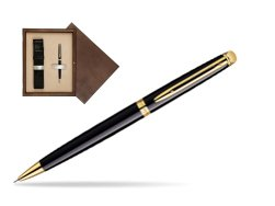 Waterman Hémisphère Black GT Mechanical pencil  in single wooden box  Wenge Single Ecru