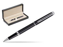 Waterman Hémisphère Matt Black CT Rollerball pen  in classic box  black