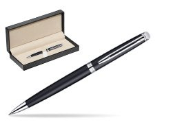 Waterman Hémisphère Matt Black CT Ballpoint pen  in classic box  pure black