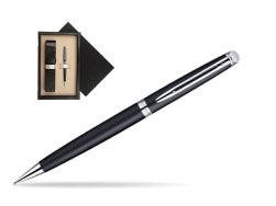 Waterman Hémisphère Matt Black CT Mechanical pencil   single wooden box  Wenge Single Ecru