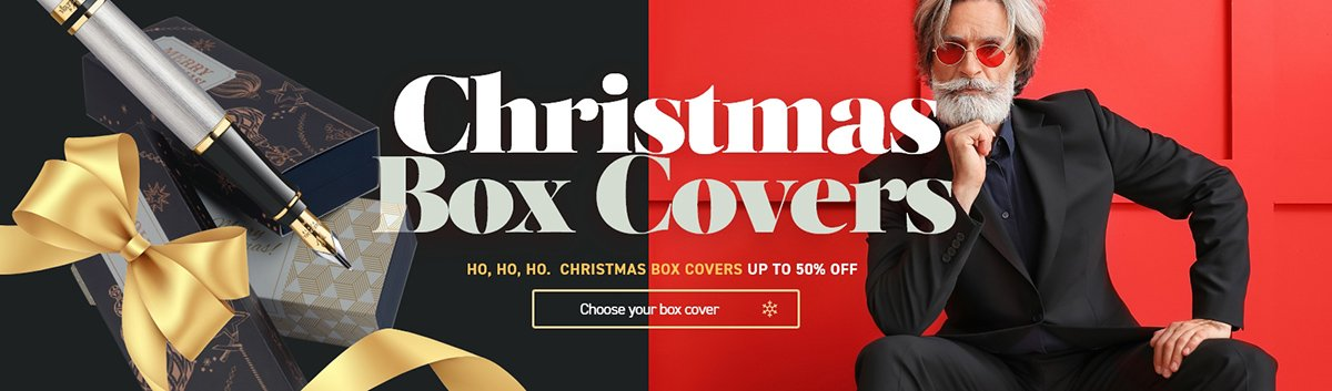 Christmas box covers up to -50% off!